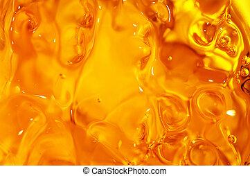 fluid background - red and orange fluid background