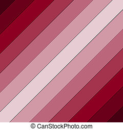 Red and pink striped diagonal row line pattern background fade from dark to light