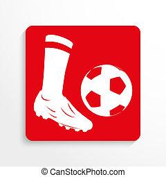 Sports symbol. Football.