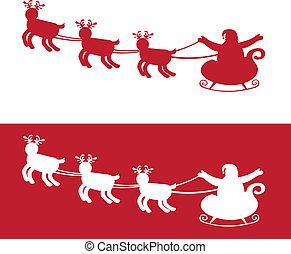 sleigh silhouette