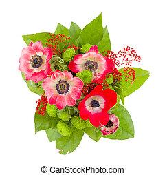 anemone flowers bouquet