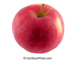 Red apple.