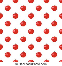 Red apple pattern