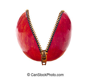 Red Apple Unzipped
