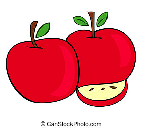 Red apples.