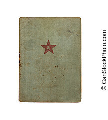 Red Army soldier`s ID book. 1940