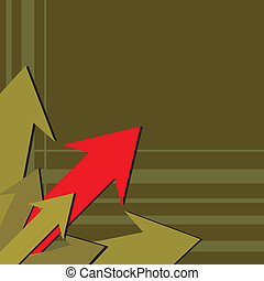 Red arrow pointing up