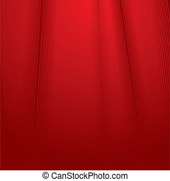 Red backdrop