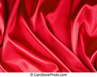 red background cloth
