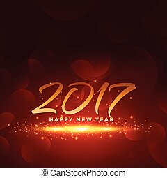red background for 2017 new year