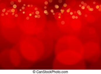 Red background with blurred light effect creating a warm atmosphere.