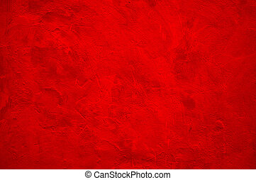 Solid red wall as background texture