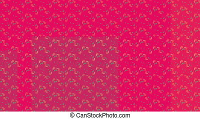 Red background squares infinite zoom abstract video