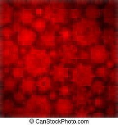 Red background with abstract shapes. EPS 8