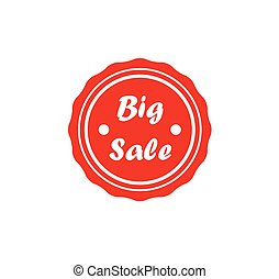 Red badge - Big Sale