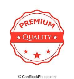 Red badge - Premium quality