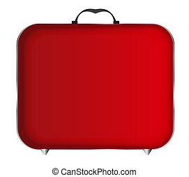 Red Bag Icon Illustration