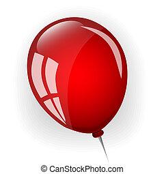 red balloon vector clip art illustrations 27 883 red balloon