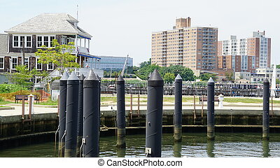 Red Bank in New Jersey, USA
