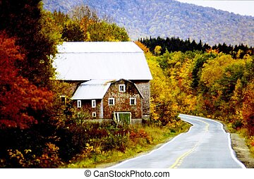 Red Barn On Cabot Trail Cape Breton NS