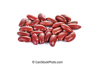 red beans photography isolated on a background