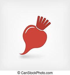 red beet symbol