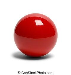 Red Billard Ball