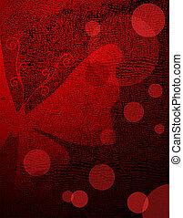 red-black, 紙,  grunge