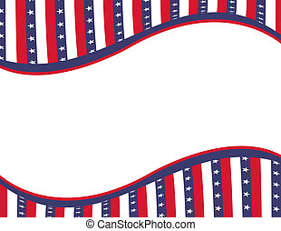 united states - red, blue and white united states with stars...