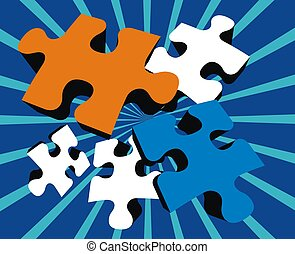 red blue puzzle