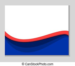 Abstract Red White Blue Background Abstract Elegant