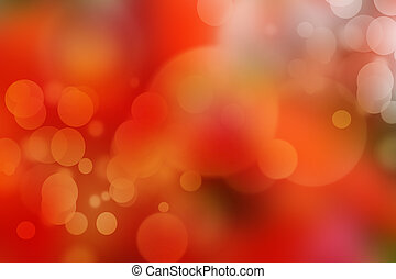red bokeh abstract light background