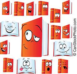 red book cartoon