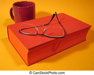 Red Book & Glasses