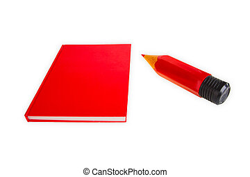 Red Book with Red Pen