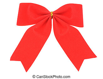 Red bow-Christmas decoration