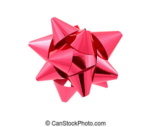 Red Bow - Clipping Path