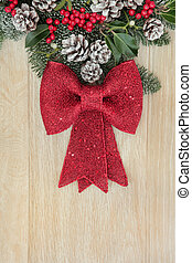 Red Bow Decoration
