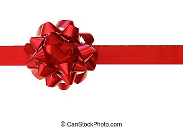 Red bow - Red gift bow