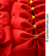 Red Bows in a Row
