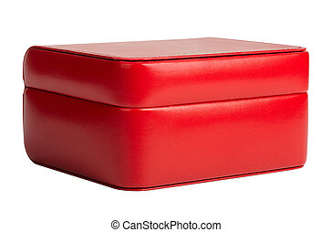 Red box, isolated