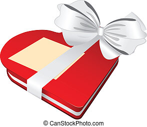 Red box white bow