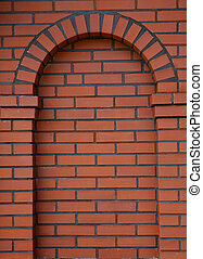 red brick arch