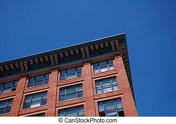 Red Brick Building Corner