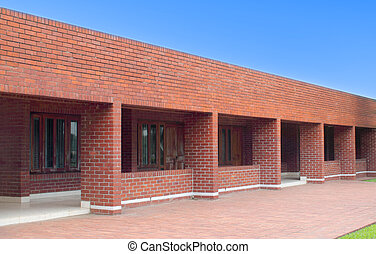 Red brick building