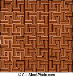 Red Brick Parquet Flooring
