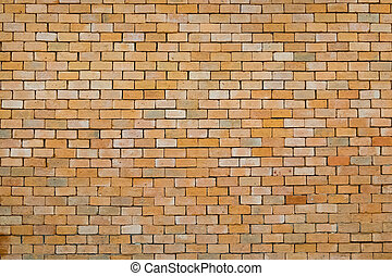 red brick wall background.