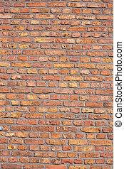 Red brick wall background texture pattren