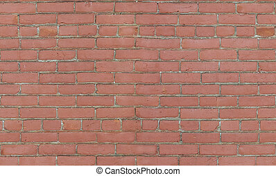 Red brick wall background texture seamlessly tileable