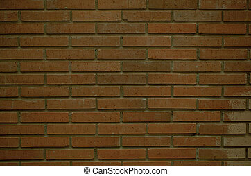 Red brick wall full frame background texture
